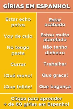 Study Spanish, Spanish Lessons, How To Speak Spanish, Learning Spanish, Spanish Grammar, Learn A New Language, Study Tips, Talk To Me, Portuguese
