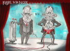 #auspol #tonyabbott #malcolmturnbull #nbn #fttn #broadband #fraudband