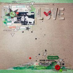 Scrap Kits & Co: SKC Kit de Décembre - Love by Maska