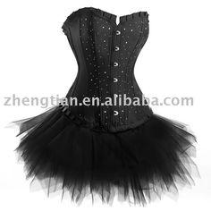 Awesome tutu corset dress