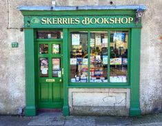 The Skerries Bookshop, Skerries, Co. Book Shops, Old Irish, Little Library, Signwriting, Shop Fronts, Shop Around, Hand Painted Signs, Dublin Ireland, Love Letters