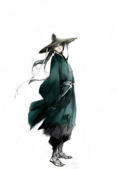 Korean Hanbok illustration Game Character Design, Character Concept, Character Art, Concept Art, Korean Art, Asian Art, Art Asiatique, Creative Pictures, Korean Traditional