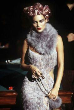 Kate Moss in John Galliano S/S 1998 RTW. (Runway, Catwalk)