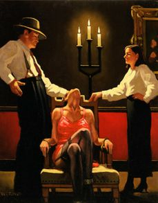 Jack Vettriano - Setting New Standards  Find this image and many more in Vettriano's book A Man's World