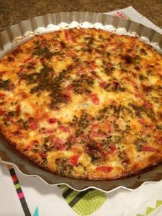 In the mood for a savory egg dish? Spicy Italian sausage and smoky Provolone make a delicious quiche perfect for breakfast or lunch with a big green salad. Breakfast Quiche, Breakfast Dishes, Breakfast Recipes, Paleo Breakfast, Breakfast Potatoes, Sausage Breakfast, Breakfast Time, Breakfast Casserole, Quiches
