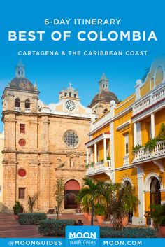 Discover the best of Colombia's Cartagena and Caribbean Coast with this 6-day travel itinerary. Find out where to go, the best things to do, and where to eat along the way. #colombia #southamerica South America Destinations, South America Travel, Travel Destinations, Travel Guides, Travel Tips, Colombia Travel, Canoe Trip, West Indies, Trip Planning