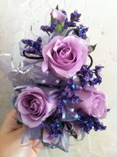 lavendar+rose+corsage   Lavender Rose corsage