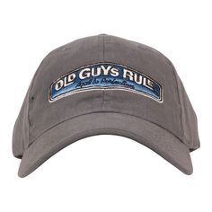 Old Guys Rule Men s Rear View Cap Men s Hats 5def79939933