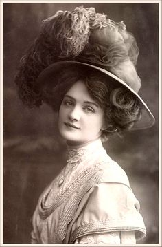 Edwardian era hair. Other than the complete lack of women's' rights, the era fits me like a glove