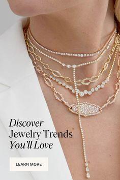 I Love Jewelry, Diy Jewelry Making, Jewelry Design, Diamond Jewelry, Beaded Jewelry, Jewelry Necklaces, Jewelry Trends, Jewelry Accessories, Fashion Rings