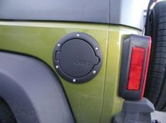 Mopar Fuel Filler Door- Accessorize with a cool filler door for your gas tank. Adding a filler door is an inexpensive way to customized look to a Jeep. Estimated Cost, $95.95