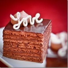 8 Kahula Soaked Chocolate Layers, frosted with Truffle Frosting makes one BomB of a combination! If you like truffles, get ready to be impre...