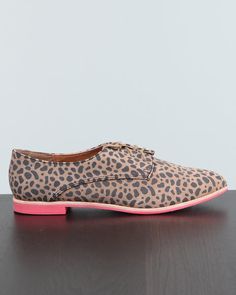 dolce vita mini cheetah oxford. They seriously do brighten up an outfit :)