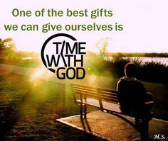 Time with God!!