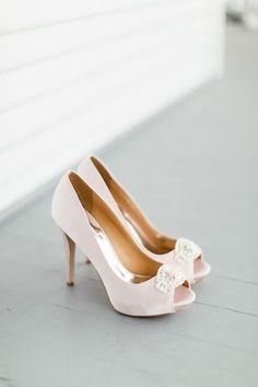 eabe7dff6196 Blush pink Badgley Mischka  bridal  weddingshoes  wedding  bridalshoes  Svadobné Odevy