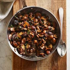 Mushrooms with Shallots and Sherry | Williams Sonoma