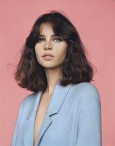 british-vogue: Felicity Jones photographed by Alasdair McLellan for the February 2014 issue.