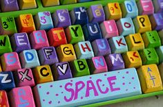 Upcycled Computer Keyboard