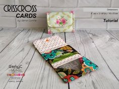 Crisscross Cards Tutorial