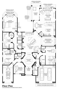 maybe eliminate the one car garage and the family room and then knock out the wall between the kitchen & dining/living areas ✔️