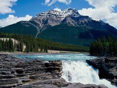 Athabasca Falls, Jasper, Alberta.    http://milesforacure.wordpress.com/