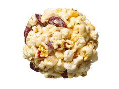 Cranberry-Ginger Popcorn Balls || foodnetwork.com