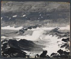 The Tempest about 1862, Peder Balke The National Gallery