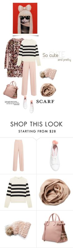 """I feel pretty, Oh so pretty!"" by iriadna ❤ liked on Polyvore featuring STELLA McCARTNEY, Minna Parikka, Jil Sander, Brunello Cucinelli, Mudd, Burberry and Empire Art Direct"