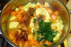Mrkvovo-zemiaková krémová polievka - obrázok 2
