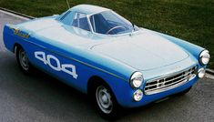 1965 Peugeot 404 Diesel world record car. Among the many records the car broke was the fastest average speed over 72 hours: 161 km/h