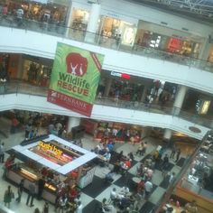 """Lenox Mall in Atlanta... Went shopping here yesterday before Cheesecake Factory for dinner... HUGE mall!!!"