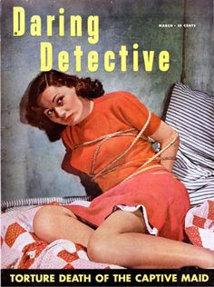 Daring Detective - March, 1951