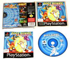 Playstation 1 Bugs Bunny auf Zeitreise für Ps1 in OVP!