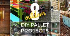 8 Outdoor DIY Pallet Projects :: Devine Paint Center Blog