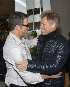 Jon Bon Jovi - Kenneth Cole Collection - Backstage - Mercedes-Benz Fashion Week Fall 2014