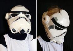 DIY Recycled Milk Jug Star Wars Helmet for Kids