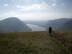 Wast Water from Scafell