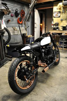 Cafe Racer, Copper trim