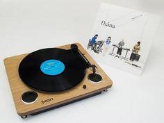 ニュマークジャパンコーポレーションは、iPhoneやパソコンへの録音も可能なUSB搭載のアナログレコードプレーヤー「ION AUDIO Archive LP」の特別バージョンとして、アーティストのfhana(ファナ/最初のaの上に「'」)のEPレコードがセットの「Archive LP fhana version」を6月12日に発売する。価格はオープンプライスで、店頭予想価格は12,744円前後(税込)。