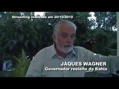 Jaques Wagner elogiando Dilma