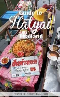 Visit HatYai, a city of Thailand at the Malaysia Border.