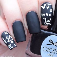 Your teachers will love these back to school nail art designs.