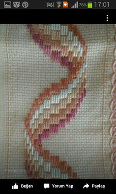 """I """"Pinned"""" this because I find the stitch pattern to be interesting."""
