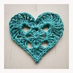 Een gratis Nederlands patroon van een Granny Hart! Wil jij ook een mooie granny hart haken, kom dan naar Haakinformatie voor het patroon!