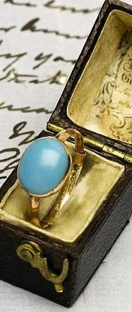 Jane Austen's Cabochon Ring