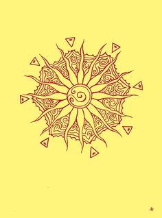 sun tattoo...I've been looking for one I like for ages...I'm thinking I finally found my sun!