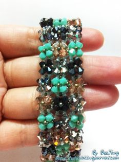 Some amazing beading pieces with step by step instructions.