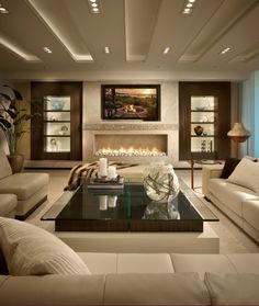 Modern Living Room Designs 21 Most Wanted Contemporary Living Room Ideas Elegant Living Room, Cozy Living Rooms, Living Room Modern, Living Room Interior, Living Room Designs, Apartment Living, Living Area, Sitting Rooms, Bedroom Interiors