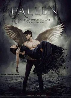Fallen - based on the Fallen series by Lauren Kate. Don't know if this is a real poster or fanmade but the movie is real and will be released in Fall Haven't read the books yet but it's on my list. Dark Fantasy Art, Fantasy Kunst, Dark Art, Fallen Series, Fallen Book, Fallen Saga, Fallen Novel, Male Angels, Angels And Demons