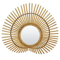 Retrouvez ce modèle de Miroir Nénuphar Vintage Rotin Bakker sur la boutique en ligne Lili's, articles de décoration intérieure et extérieure.
